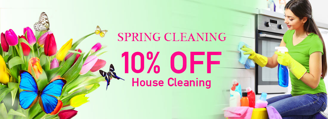 Spring Cleaning House Ad
